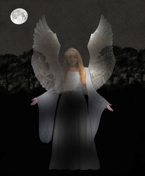 Photograph - Spiritual Angel by Eric Kempson