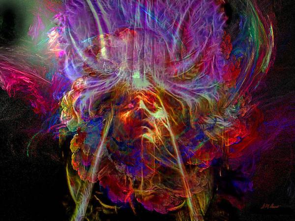 Spiritual Mixed Media - Spiritual Transcendence by Michael Durst