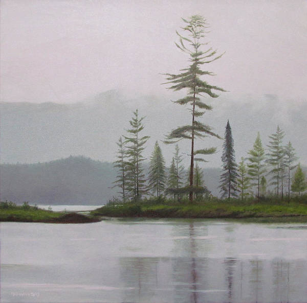 Adirondack Mountains Painting - Spitfire by Bruce Newman
