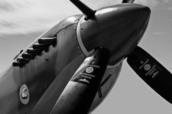 Wall Art - Photograph - Spitfire Vickers Supermarine Mk Ixe Sl633 by Daniel Hagerman