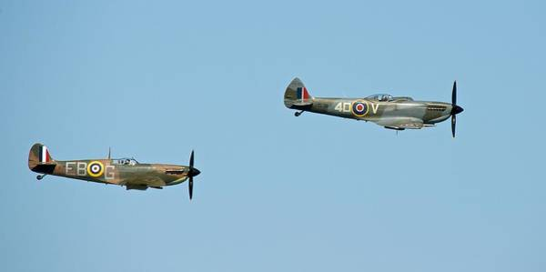 Photograph - Spitfires by Stephen Taylor