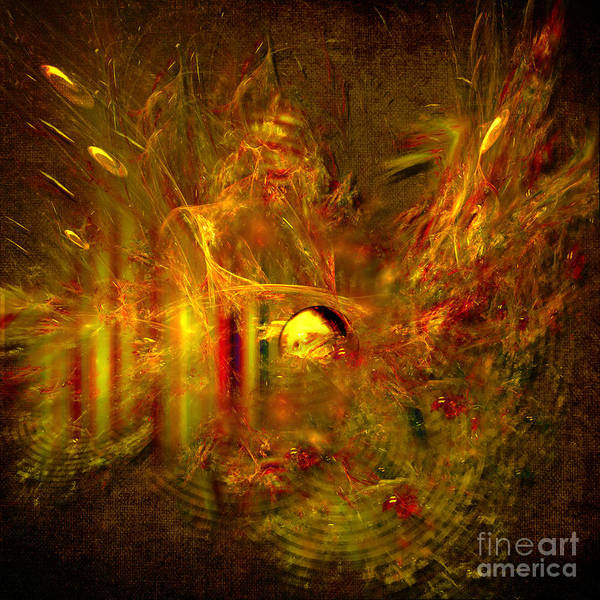 Digital Art - Splash by Alexa Szlavics