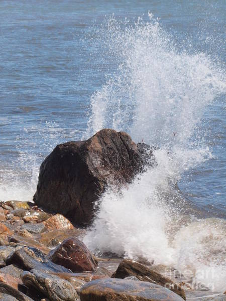 Wall Art - Photograph - Splash by Frank Piercy
