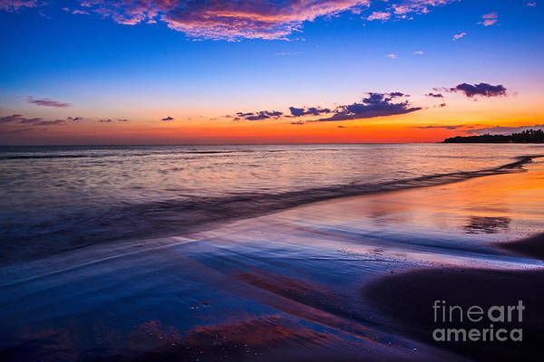 Maui Sunset Photograph - Splashes Of Color - Maui by Jamie Pham