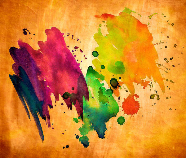 Digital Art - Splatter Board by Rick Wicker