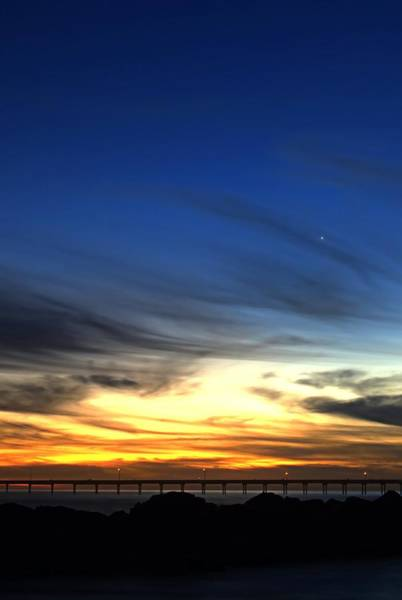 Tramonto Photograph - Splendido Tramonto Verticale by See My  Photos