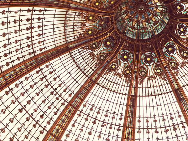 Galeries Lafayette Photograph - Splendor In The Glass by Irene Suchocki