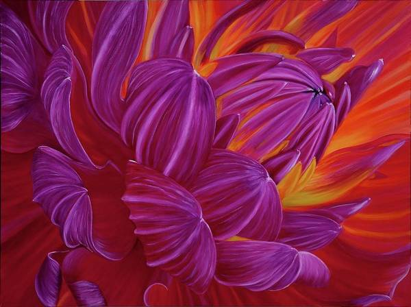 Painting - Splendor by Jeannette Tramontano