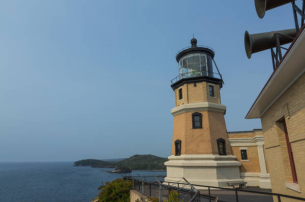 Foghorns Photograph - Split Rock Lighthouse 99 by John Brueske
