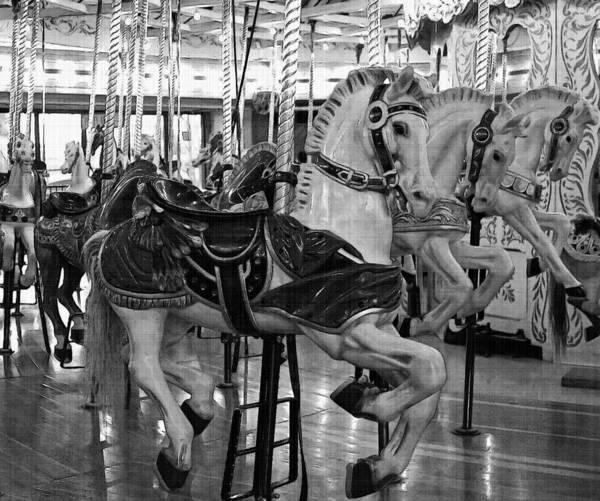 Photograph - Spokane Carousel by Jani Freimann