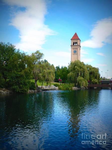 Photograph - Spokane Riverfront Park by Carol Groenen