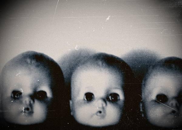 Photograph - Spooky Doll Heads by Patricia Strand
