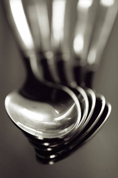 Photograph - Spoons by Matthew Pace