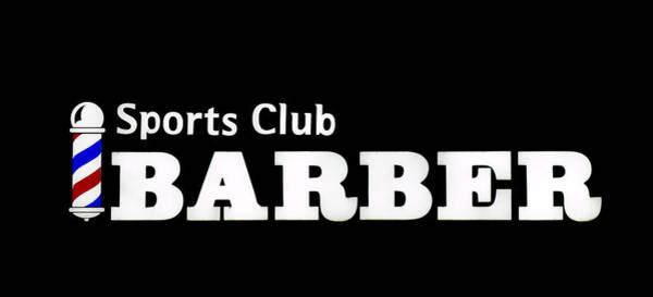 Photograph - Sports Club Barber by E Faithe Lester