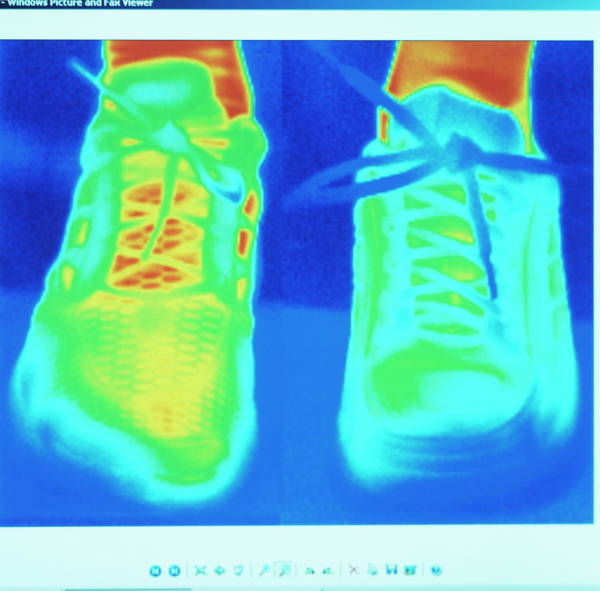 Trainer Photograph - Sports Trainers by Philippe Psaila/science Photo Library