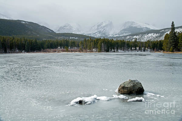 Photograph - Sprague Lake In Rocky Mountain National Park by Fred Stearns