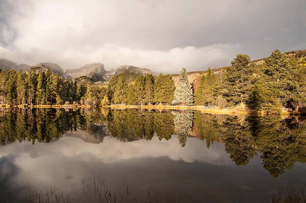 Photograph - Sprague Lake Reflection by Lee Kirchhevel