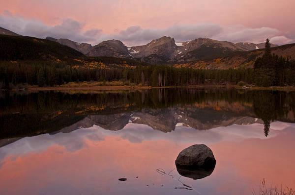 Photograph - Sprague Lake Sunrise by Lee Kirchhevel