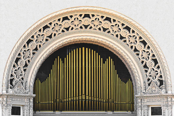 Wall Art - Photograph - Spreckels Organ Balboa Park San Diego by Christine Till