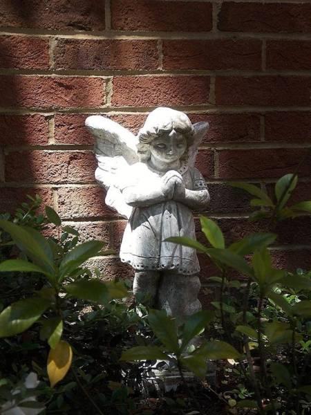 Angel Of Hope Art Print
