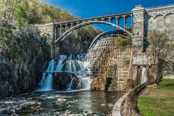 Photograph - Spring Afternoon At The Croton Gorge Dam by Dave Hahn