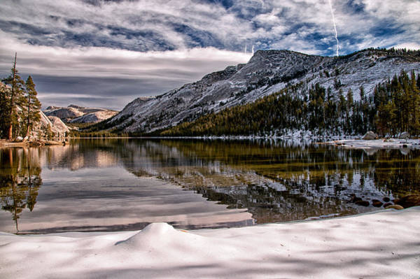 Photograph - Snowy Lake Tenaya by Cat Connor