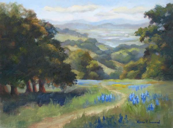 Toros Painting - Spring At Toro Park by Karin  Leonard