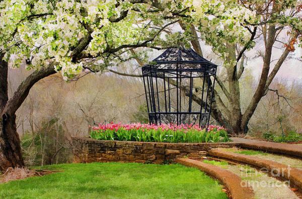 Gazebo Photograph - Spring Beauty by Darren Fisher