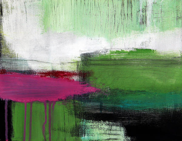 Wall Art - Painting - Spring Became Summer- Abstract Painting  by Linda Woods