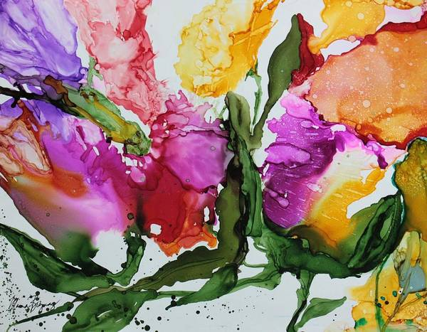Painting - Spring Bouquet by Marcia Breznay
