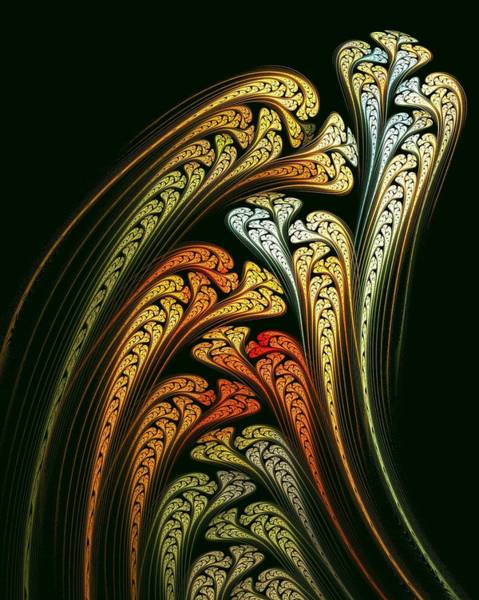 Digital Art - Spring Bulbs by Doug Morgan