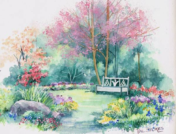 Painting - Spring Came Softly... by Val Stokes