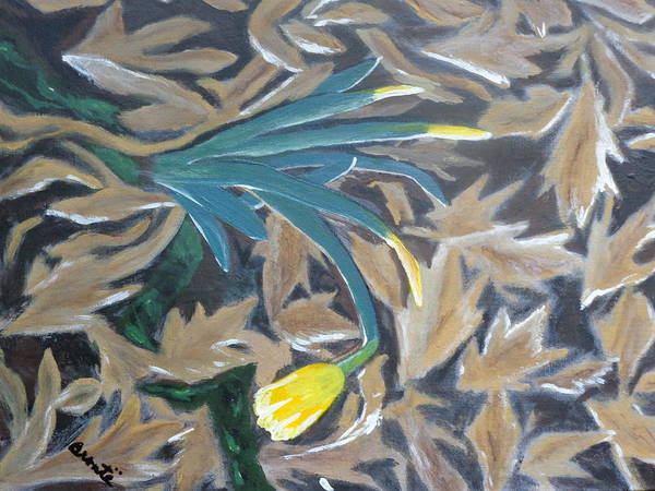 Post-it Painting - Spring by Carol  Lynn Bronte