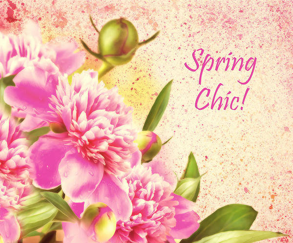 Floristry Photograph - Spring Chic by Georgiana Romanovna