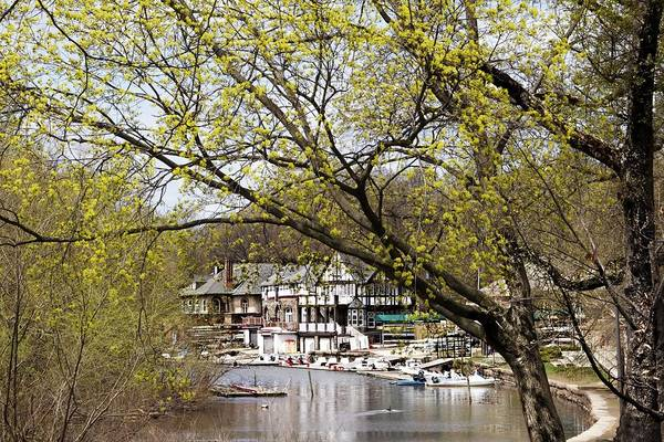 Wall Art - Photograph - Spring Comes To Boathouse Row by Alice Gipson