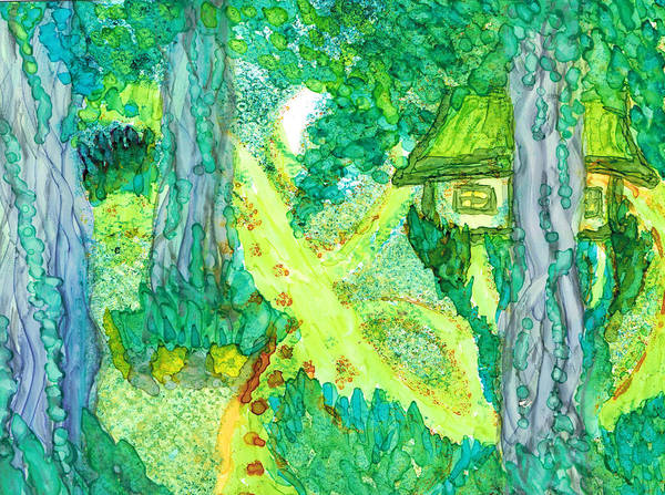 Spring Cottage Too Art Print