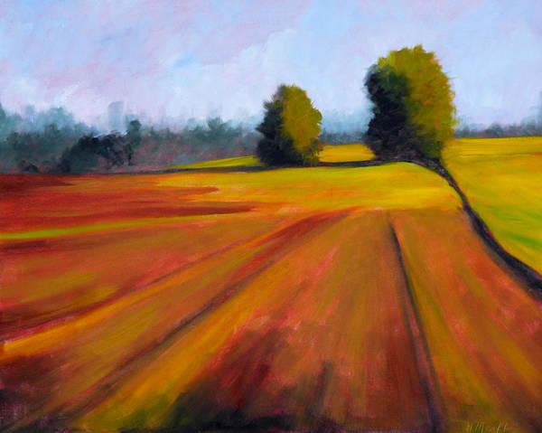 Prairie Painting - Spring Field by Nancy Merkle