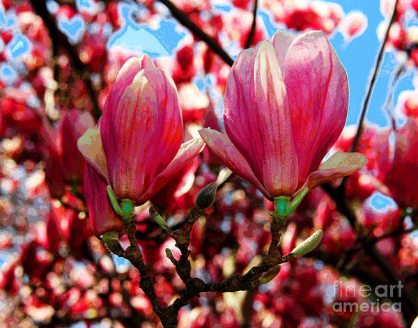 Photograph - Spring Flowers by Larry Oskin