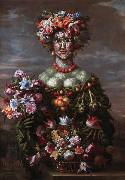 Potato Painting - Spring by Giovanni Stanchi