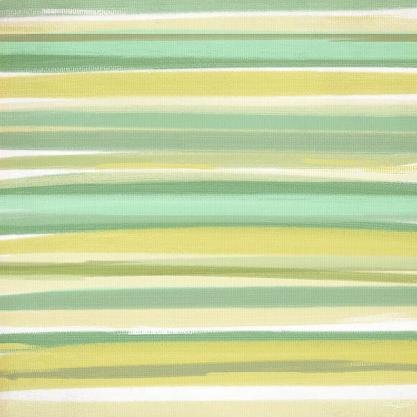 Shades Of Green Painting - Spring Green by Lourry Legarde