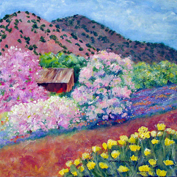 Painting - Spring In Dixon New Mexico by Linda Rauch
