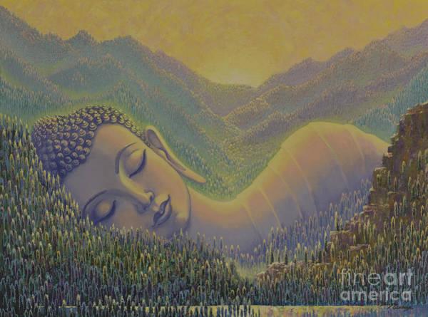 Wall Art - Painting - Spring In Himalayas by Yuliya Glavnaya