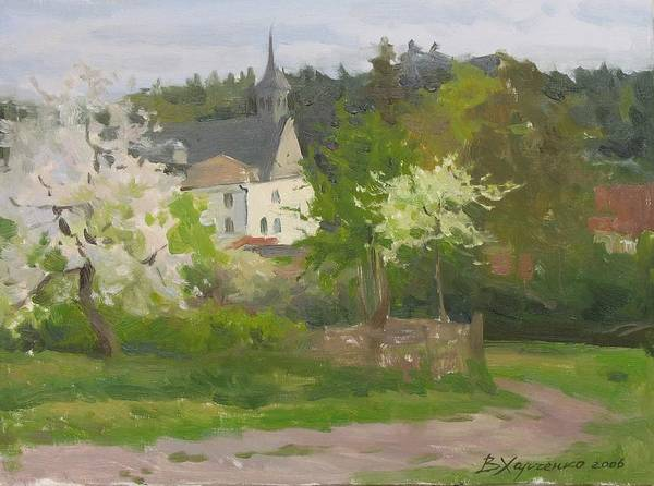 Poland Painting - Spring In Smalgeno by Victoria Kharchenko
