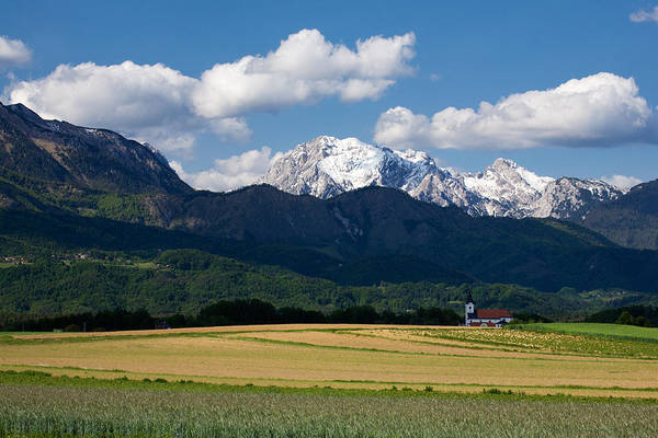 Wall Art - Photograph - Spring In The Alps by Ian Middleton