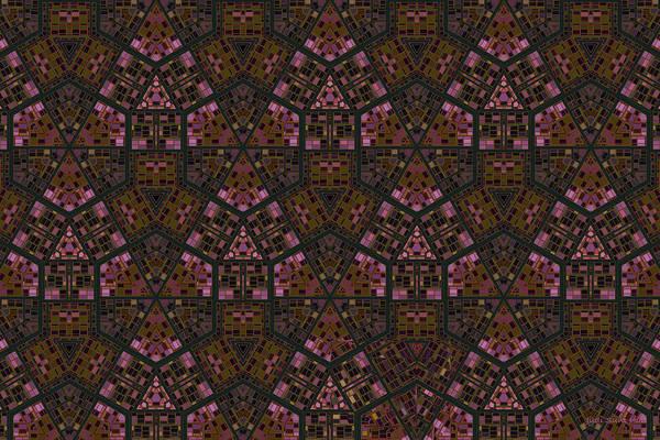Digital Art - Spring In The City Mosaic by Judi Suni Hall
