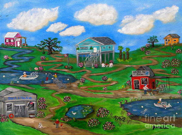 Wall Art - Painting - Spring In The South by JoAnn Wheeler