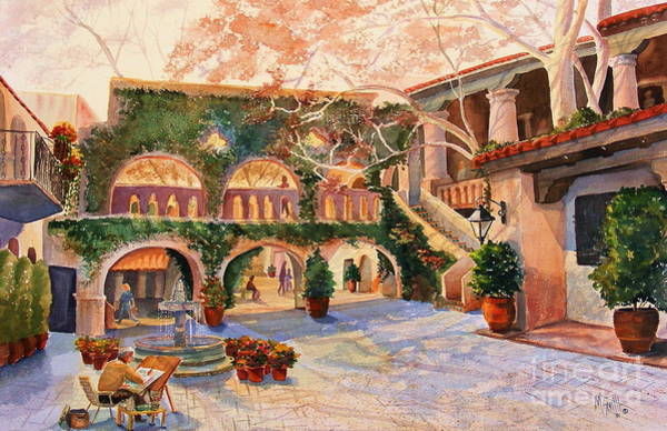 Shopping Painting - Spring In Tlaquepaque by Marilyn Smith