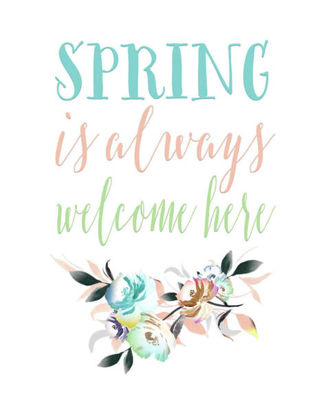Wall Art - Painting - Spring Is Always Welcome II by Tara Moss