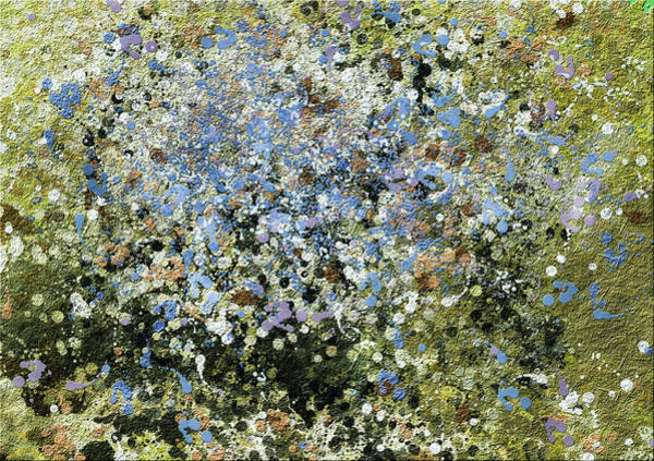 Olives Mixed Media - Spring Is Here - Abstract by Isabella Howard