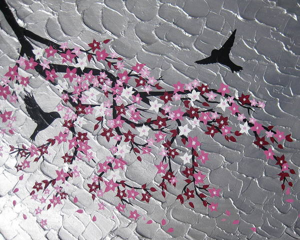 Cathy Painting - Spring Is Here by Cathy Jacobs
